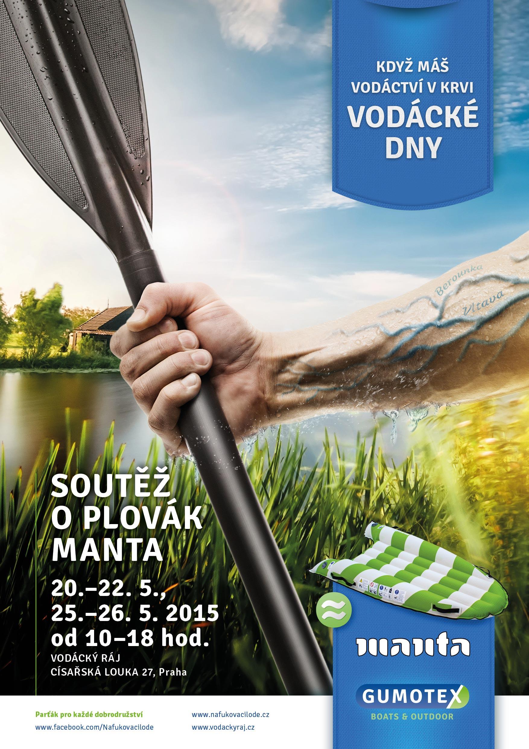 Vodácké dny Gumotex - Praha